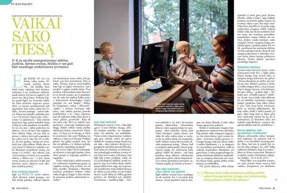Unikalus lietuvės mokslinis tyrimas: kompiuteris ir vaiko smegenys