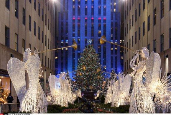 Kalėdų eglutė Niujorke, JAV