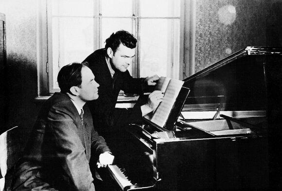 Julius Juzeliūnas ir Eduardas Balsys