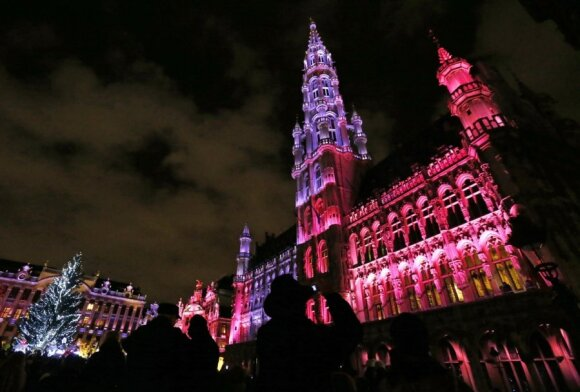 Kalėdinis Briuselis