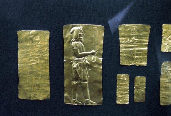 Lobis Amudarjos upės slėnyje iš Baktrijos karalystės laikų