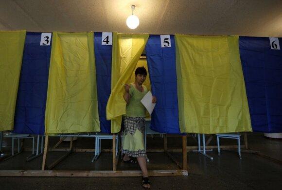Выборы на Украине: подсчитана половина голосов, лидирует Порошенко