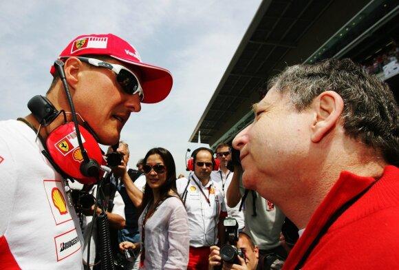 Michaelis Schumacheris, Jeanas Todtas