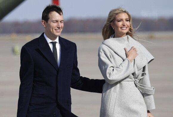 Jared Kushner ir Ivanka Trump