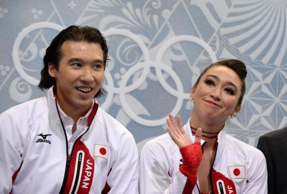 Cathy ir Chrisas Reedai 2014 metų olimpinėse žaidynėse