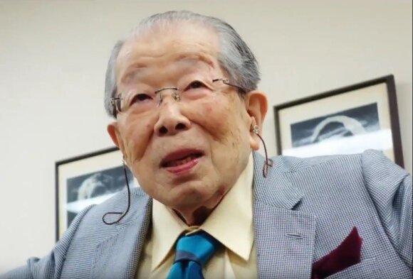 105 metų sulaukusio daktaro Shigeaki Hinoharos ilgaamžiškumo taisyklės
