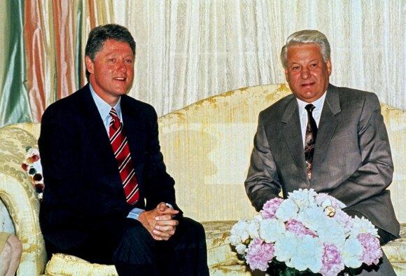 Borisas Jelcinas, Billas Clintonas