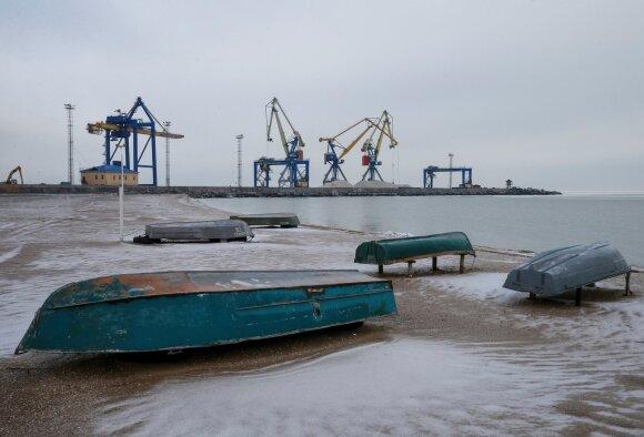 Ištuštėjęs Mariupolio uostas