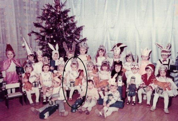 Aistė Pilvelytė vaikystėje