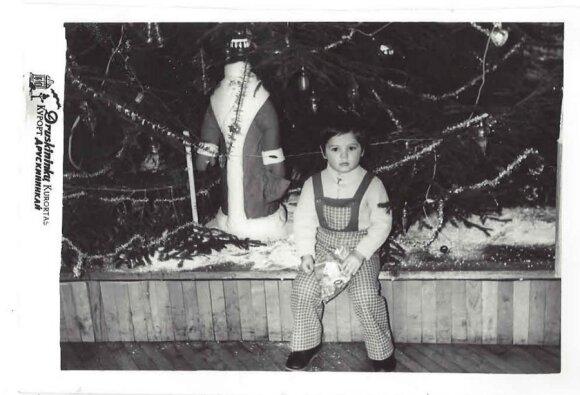 Vitalijus Cololo vaikystėje per Kalėdas