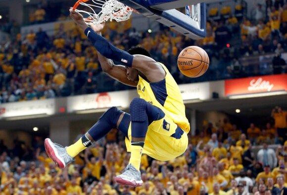NBA: neįtikėtina Pacers pergalė šeštose rungtynėse prieš Cavaliers