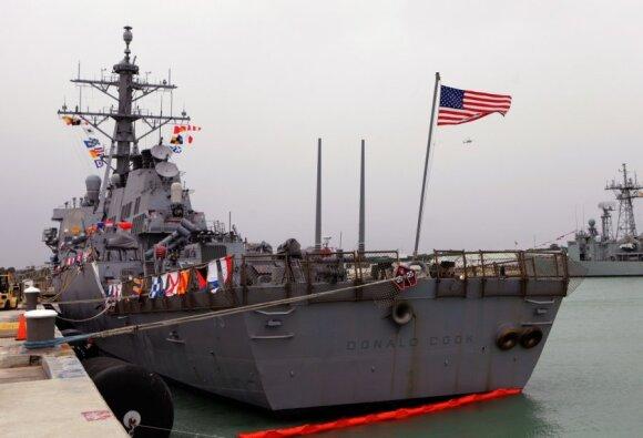 JAV laivyno eskadrinis minininkas Donald Cook