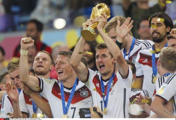 Vokietijos futbolo rinktinė - 2014 metų pasaulio čempionė