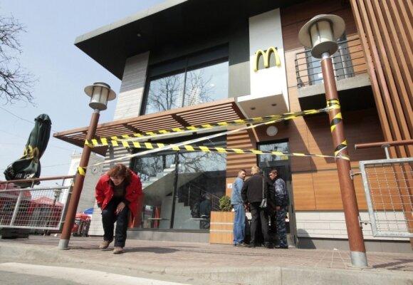 Uždarytas McDonald's Kryme