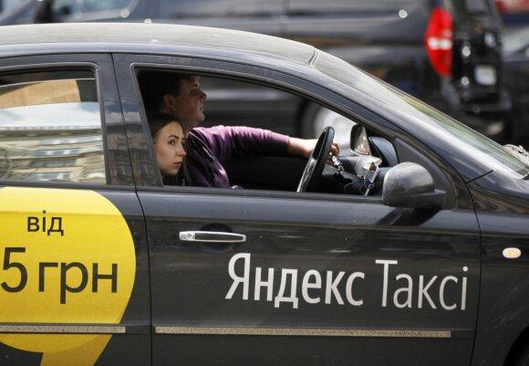 """""""Yandex Taxi"""" Kijeve"""