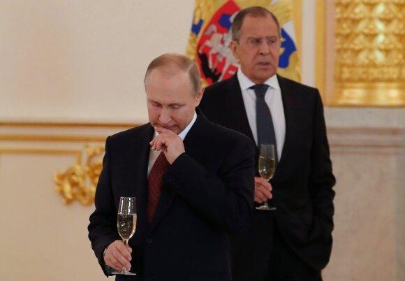 Vladimiras Putinas, Sergejus Lavrovas