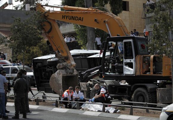Teroristo ataka Jeruzaleje
