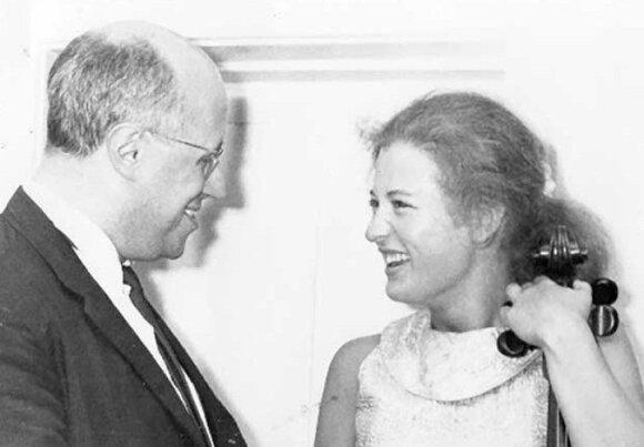 Elizabeth Wilson ir M. Rostrostropovič