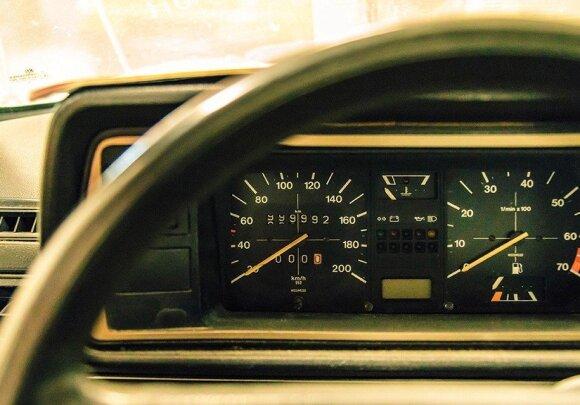 """Milijoną kilometrų nuriedėjęs """"Volkswagen Golf"""""""
