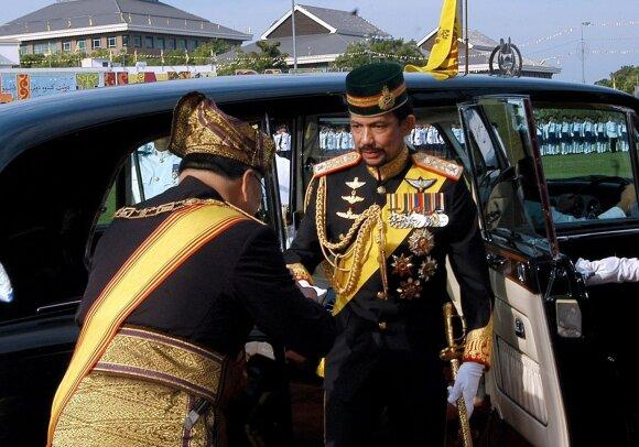 Brunėjaus sultonas Hassanalas Bolkiahas