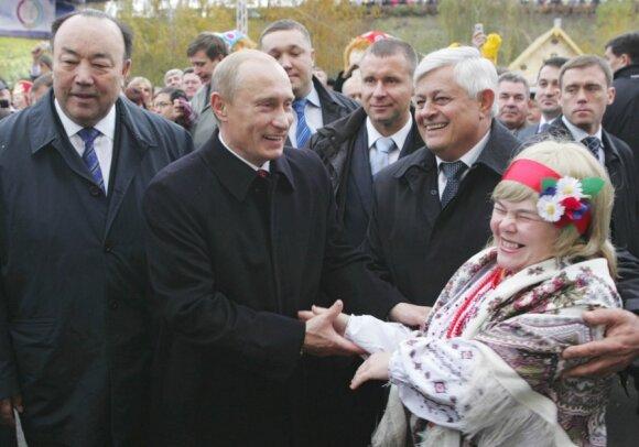 Murtazas Rachimovas, Vladimiras Putinas