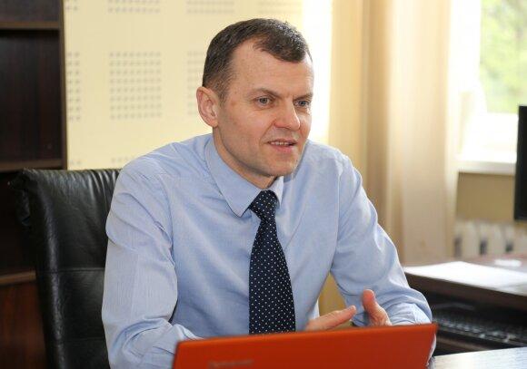 LSU rektorius dr. Aivaras Ratkevičius