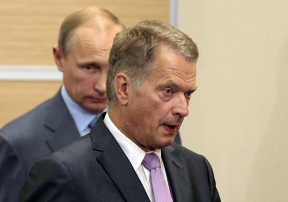 Vladimiras Putinas, Sauli Niinisto