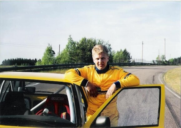 Benediktas Vanagas karjeros pradžioje