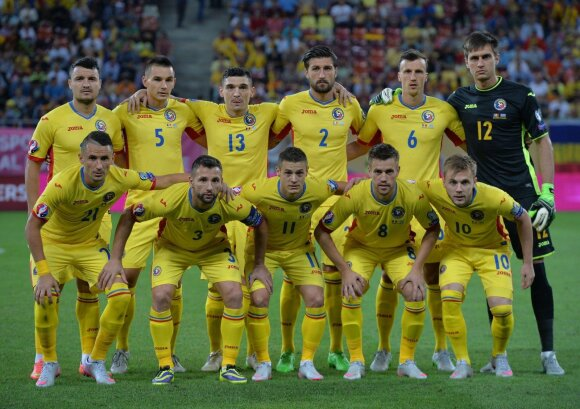 Rumunijos futbolo rinktinė