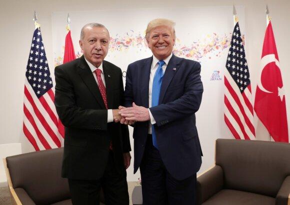 Recepas Tayyipas Erdoganas, Donaldas Trumpas