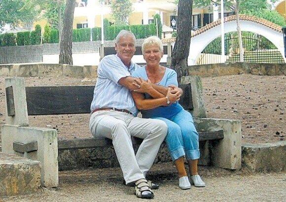 Gediminas Degutis ir Irena Degutienė