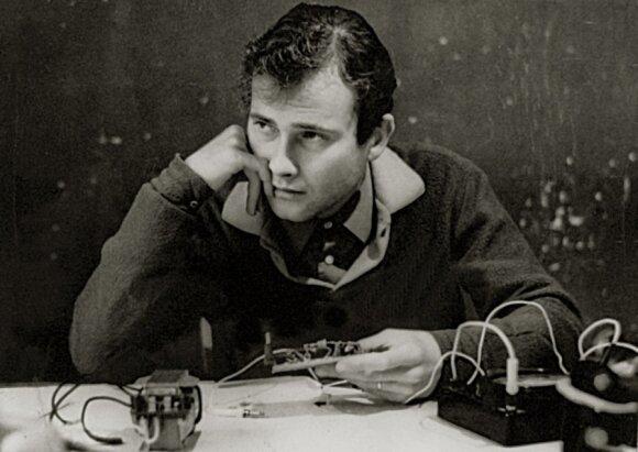 Vygandas Ostrauskis 1977 m.