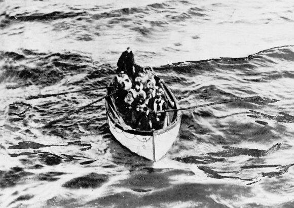 """Titaniko"" gelbėjimosi valtis"