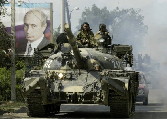 Gruzija žino, kaip Ukrainai gintis nuo V. Putino