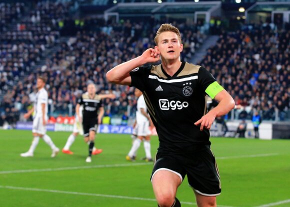 "Matthijs de Ligt, ""Ajax"""
