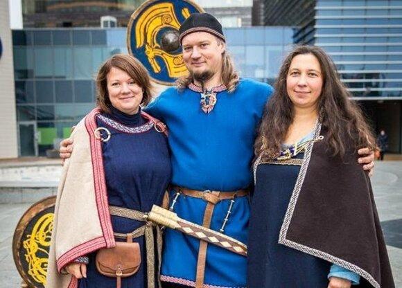 Vikingų kaimo įkūrėjai