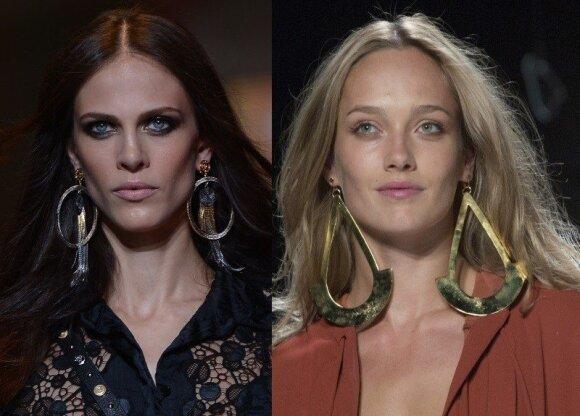 """""""Versace"""" ir """"Diane Von Furstenberg"""" modeliai"""