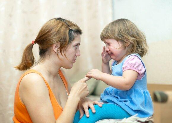 Vaikas ožiuojasi: yra keli būdai su tuo susitvarkyti