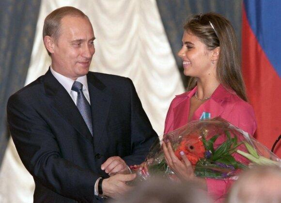 Vladimiras Putinas, Alina Kabajeva