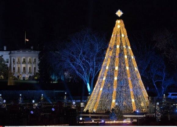 Kalėdų eglutė Vašingtone, Amerika