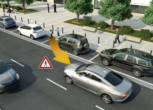 V2X technologija apsaugos labiausiai pažeidžiamus eismo dalyvius