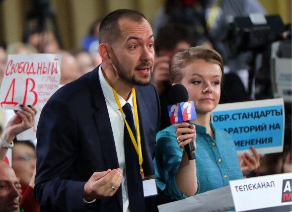 Ukrainos žurnalistas Romanas Cimbaliukas