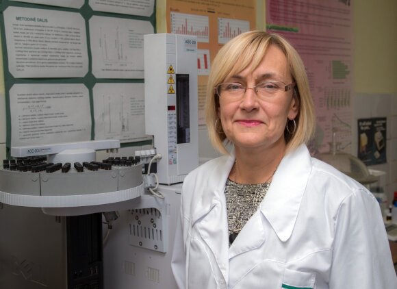 Maisto instituto mikrobiologė Irena Mačionienė