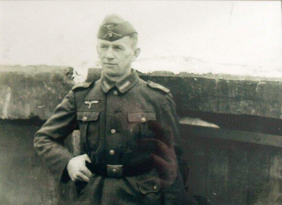 Lietuvininkas Martynas Gelžius (1908–1988) Mėmelio placdarmo gynyboje