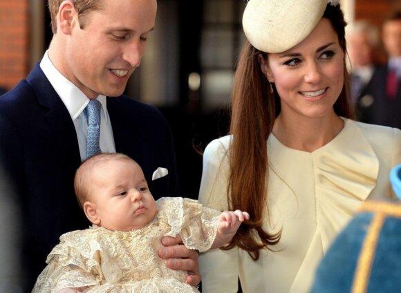 princas Williamas, Catherine Middleton, Kate Middleton, karališkas kūdikis, princas George'as