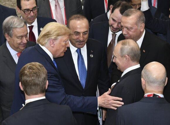 Donaldas Trumpas, Recepas Tayyipas Erdoganas, Vladimiras Putinas