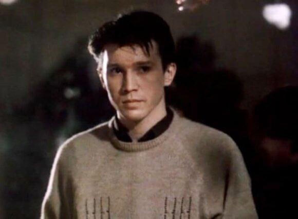 """Jevgenijus Mironovas filme """"Meilė"""", 1991 m."""