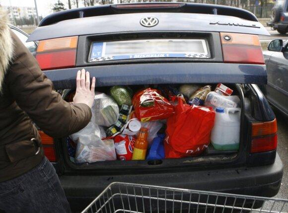 Pirkiniai, apsipirkimas Lenkijoje, produktai