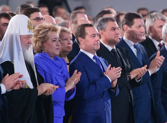 """Putinas pademonstravo naujausios ginkluotės bandymus: niekas kitas """"tokio ginklo neturi"""""""