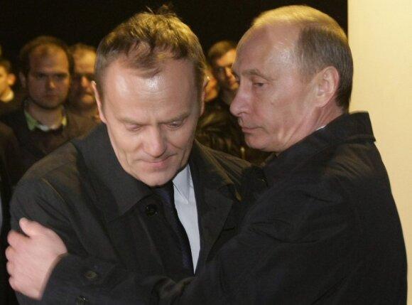 Kremlius niršta ant Varšuvos ir kaltina rusofobija: pakvietė Nausėdą ir Trumpą, o Putino – ne